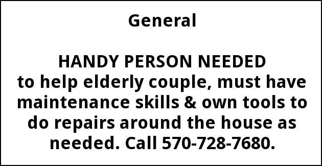 handy person hauptly enterprises