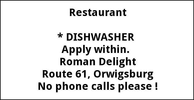 Dishwasher,