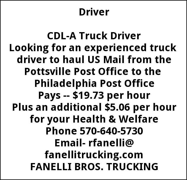 CDL A Driver
