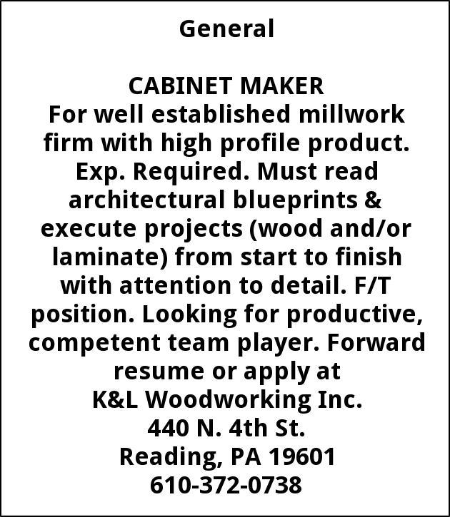 Prime Cabinet Maker Kl Woodworking Inc Reading Pa Download Free Architecture Designs Pendunizatbritishbridgeorg