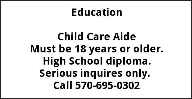 Child Care Aide
