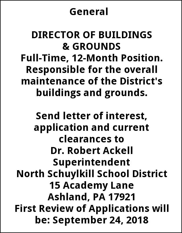 DIRECTOR OF BUILDING AND GROUNDS