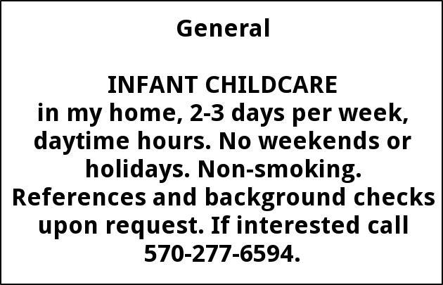 Infant ChildCare