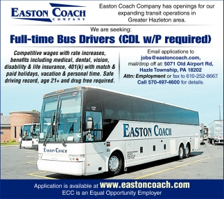 cdl bus driver job description