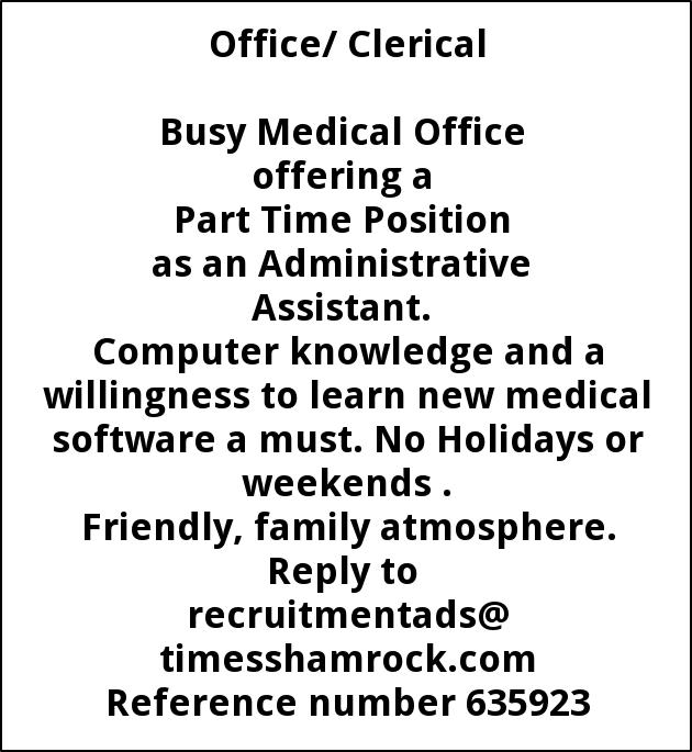 Administrative Assistant
