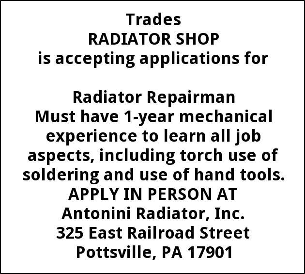 Radiator Repairman