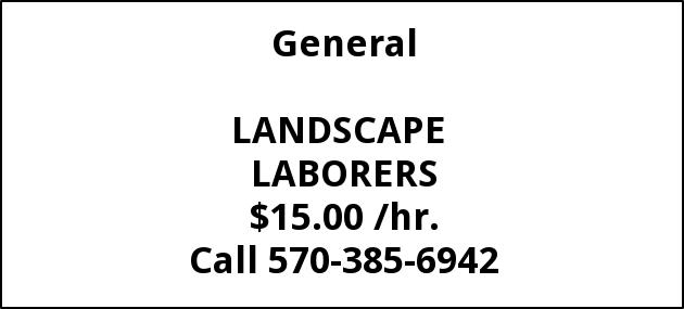Landscape Laborers