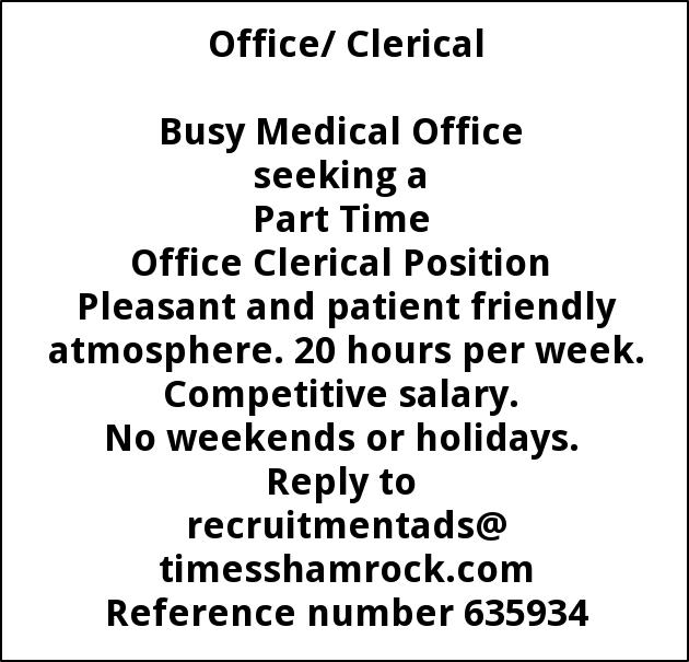 Office Clerical
