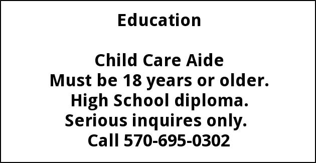 Child Care Aide