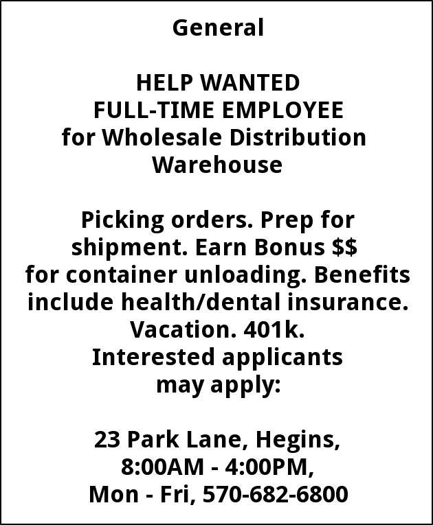 Wholesale Distribution Warehouse