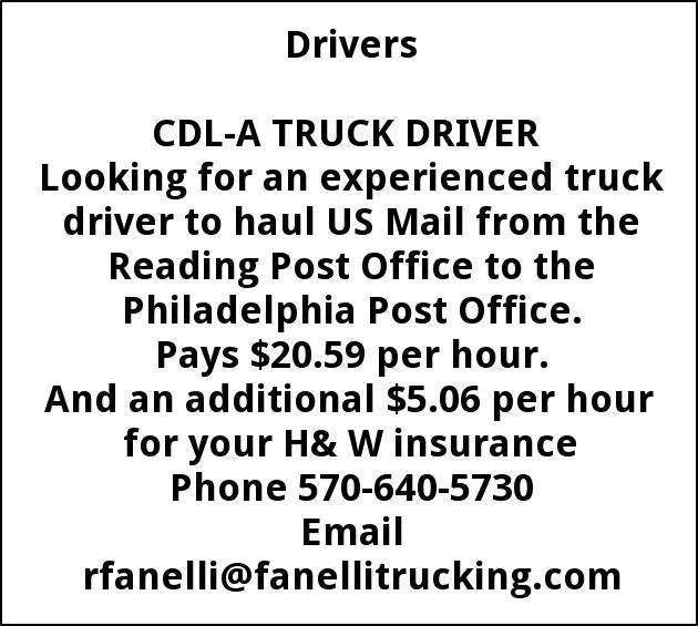 CDL-A Truck Driver