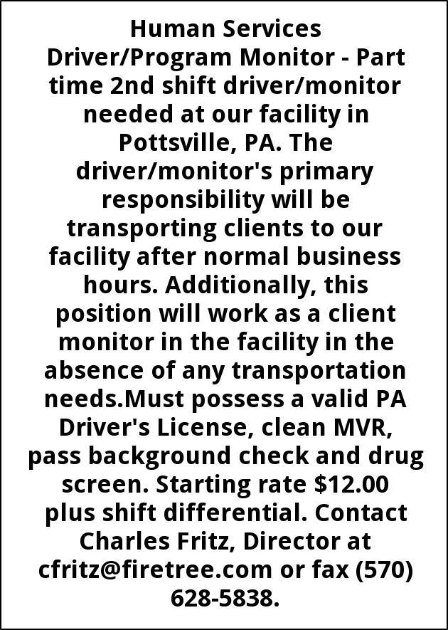 Driver/Program Monitor