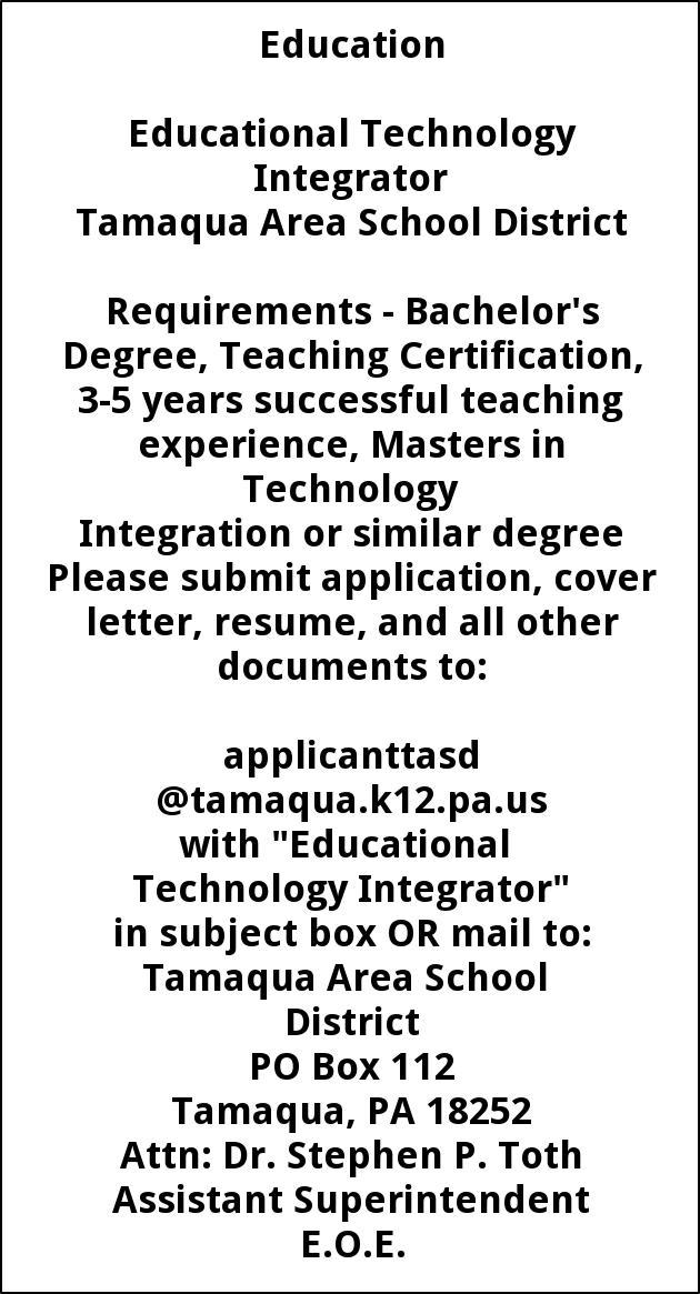 Educational Technology Integrator