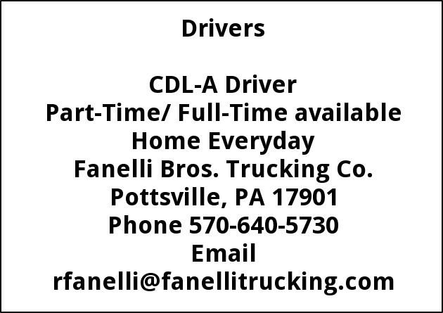 CDL-A Driver Needed