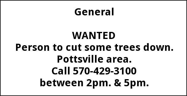Tree Cutter Wanter