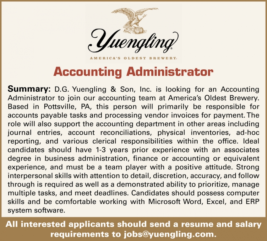 Accounting Administrator