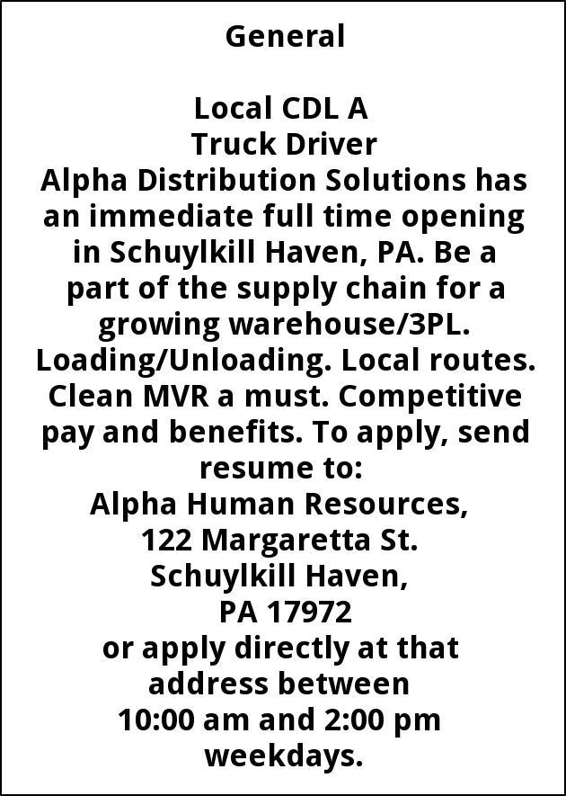 CDL A Truck Driver