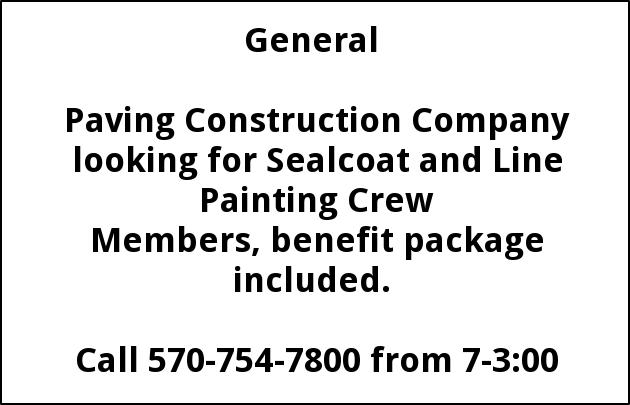 Sealcoat & Line Painting