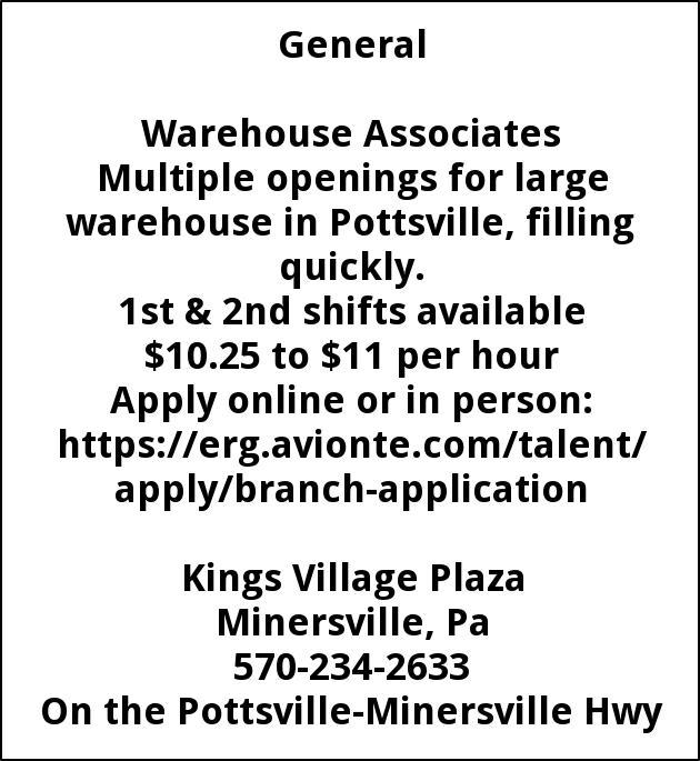 Warehouse Associates