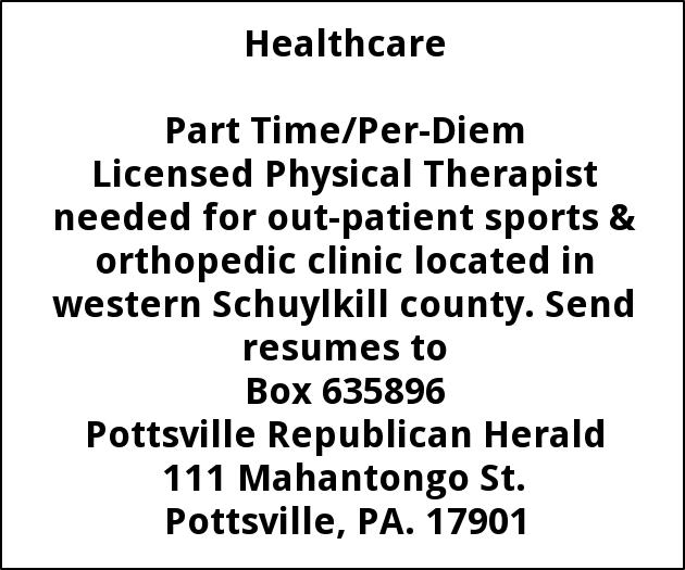 Licensed Physical Therapist