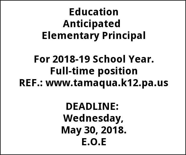 Elementary Principal