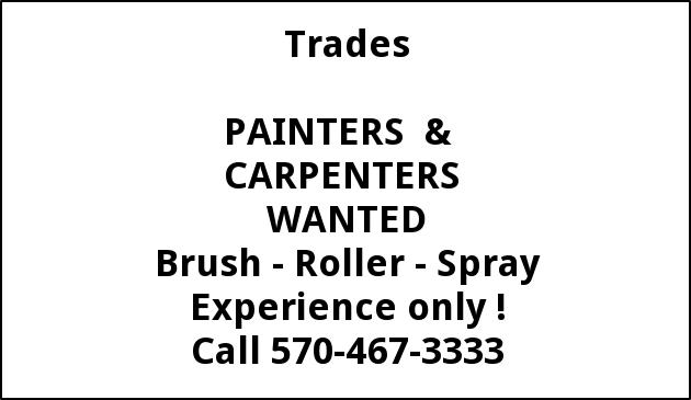 Painters & Carpenters