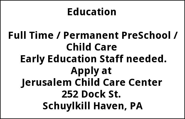 Pre School Child Care